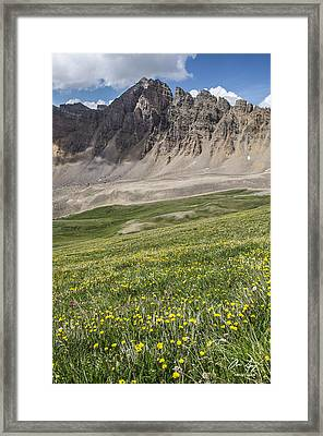 Cathedral Peak Framed Print by Aaron Spong