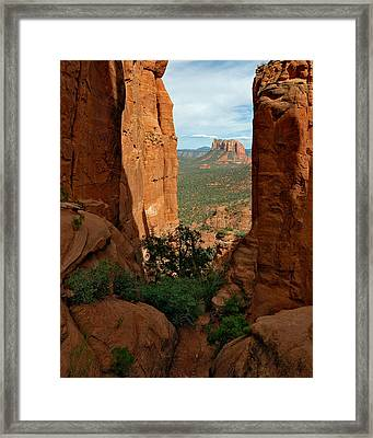 Cathedral Rock 05-012 Framed Print by Scott McAllister
