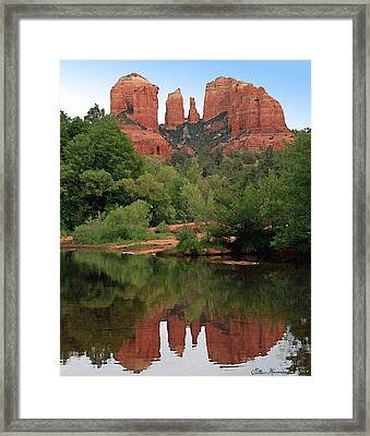 Cathedral Rock 1 Framed Print by Ellen Henneke