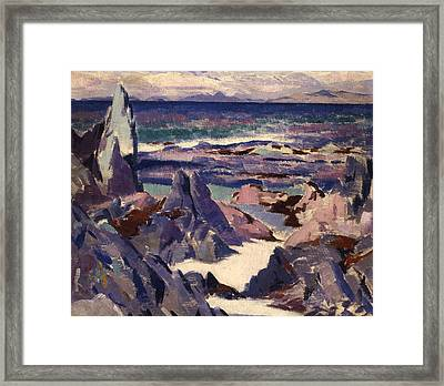 Cathedral Rock Framed Print by Francis Campbell Boileau Cadell
