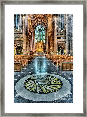 Cathedral Way Framed Print by Adrian Evans