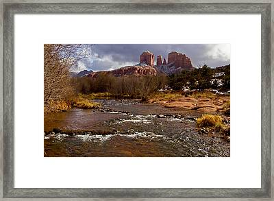 Cathedral's Dusting  Framed Print by Tom Kelly