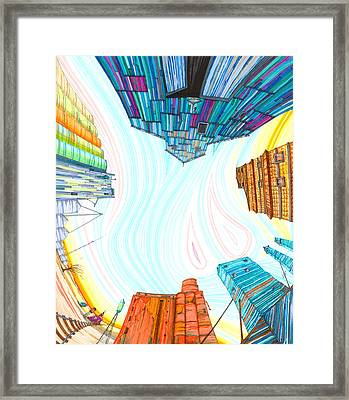 Cathedrals Framed Print by Scott Kirby