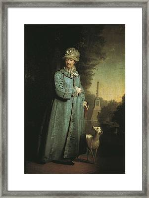 Catherine II The Great 1729-1796 Framed Print by Everett