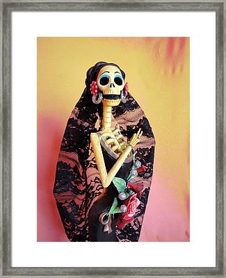 Catrina So Elegant Framed Print by Sandra Lewis