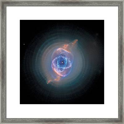 Cats Eye Nebula - Ngc 6543  Framed Print by Celestial Images