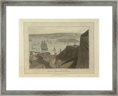 Catwater Framed Print by British Library