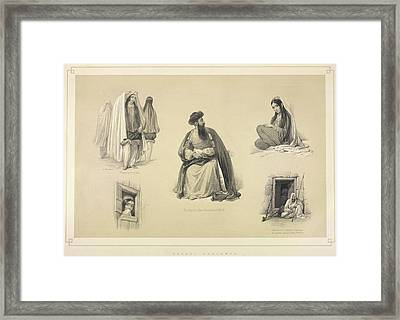 Caubal Costumes Framed Print by British Library