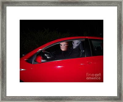 Caught On Film Framed Print by First Star Art