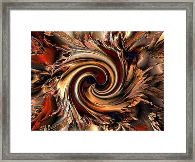 Caught Up In It All Framed Print by Claude McCoy