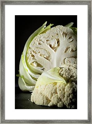 Cauliflower Framed Print by Aberration Films Ltd