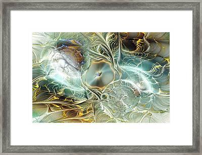 Caustic Framed Print by Anastasiya Malakhova