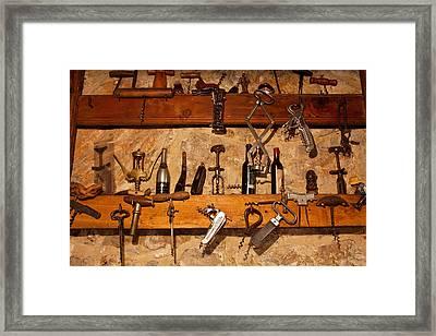 Cavatappi Framed Print by John Galbo