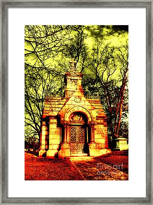 Cave Hill Haunting Framed Print by Darren Fisher