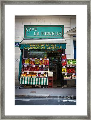Cave La Tonnelle Framed Print by Inge Johnsson