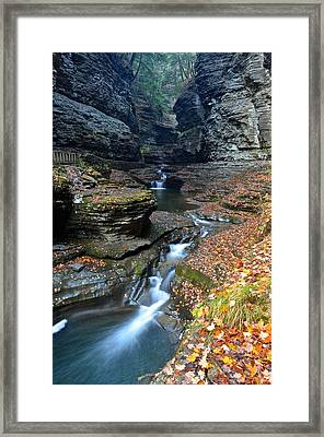 Cavernous Walls Framed Print by Frozen in Time Fine Art Photography