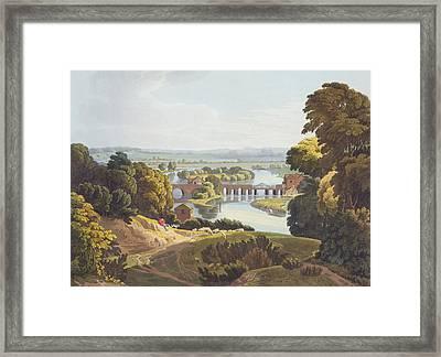 Caversham Bridge, Near Reading Framed Print by William Havell