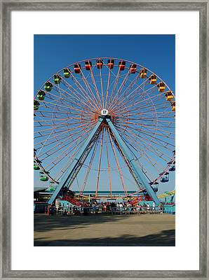 Cedar Point Sunday Framed Print by Frozen in Time Fine Art Photography