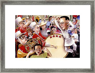 Celebrate Framed Print by Denny Bond