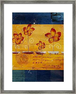 Celebrate - Txt02t2 Framed Print by Variance Collections