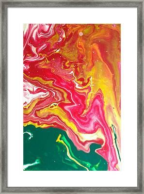Celebration 1011 Framed Print by Sonya Wilson