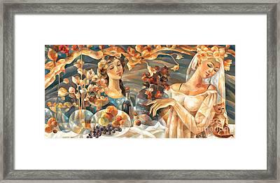 Celebration Framed Print by C Sherry