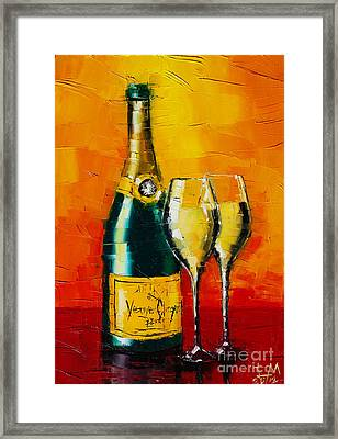 Celebration Time Framed Print by Mona Edulesco