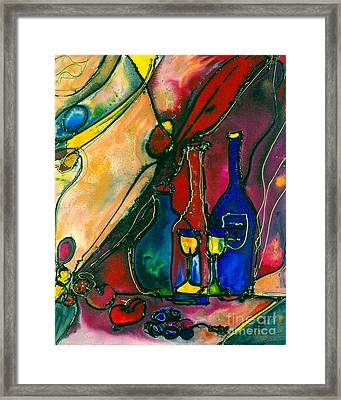 Celebration Framed Print by Twyla Gettert