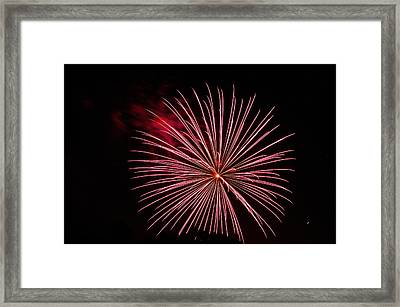 Celebration Xvii Framed Print by Pablo Rosales