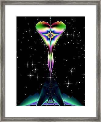 Celestial Body Framed Print by Wendy J St Christopher
