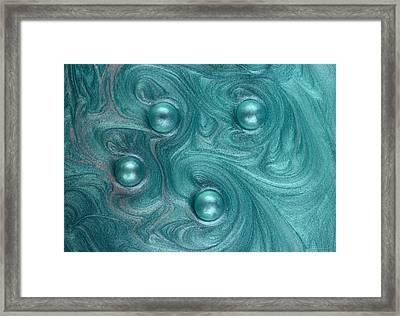Celestial Dance Framed Print by Chrystyne Novack