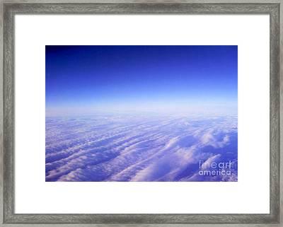 Celestial Field Framed Print by Nina Ficur Feenan