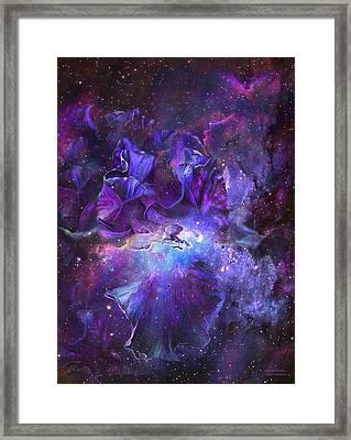 Celestial Goddess Framed Print by Carol Cavalaris
