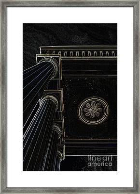 Celestial Pillars Framed Print by Inspired Nature Photography Fine Art Photography