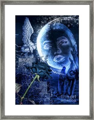 Celestine Framed Print by Mo T