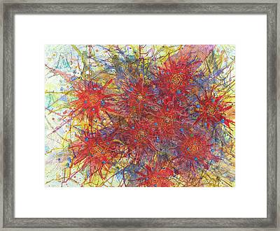 Cell No.11 Framed Print by Angela Canada-Hopkins