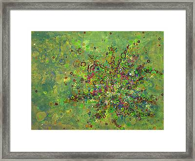 Cell No.4 Framed Print by Angela Canada-Hopkins