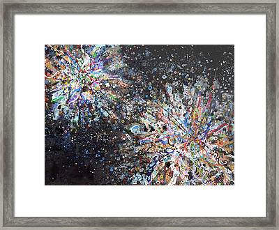 Cell No.7 Framed Print by Angela Canada-Hopkins