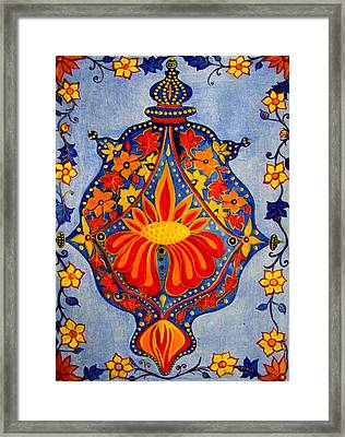 Cem-colour-006rb-contemporary Ethnic Mix Framed Print by Pat Bullen-Whatling