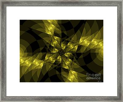 Center Square Framed Print by Elizabeth McTaggart