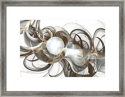 Central Core Framed Print by Anastasiya Malakhova