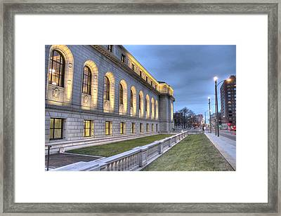 Central Library St. Louis Framed Print by Jane Linders