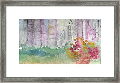 Central Park  Framed Print by Linda Woods