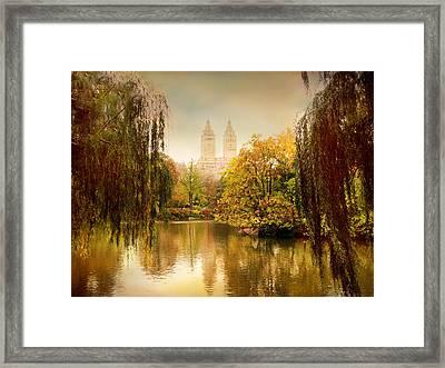Central Park Splendor Framed Print by Jessica Jenney