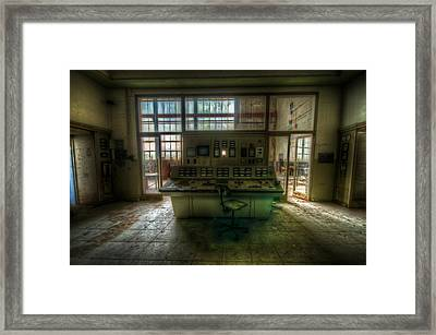 Central Power Framed Print by Nathan Wright
