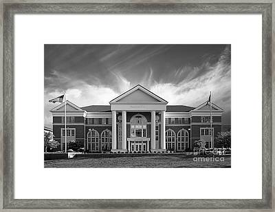 Centre College - Crounse Hall Framed Print by University Icons