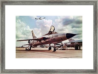 Century Series U S A F Framed Print by Peter Chilelli