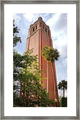 Century Tower Framed Print by Joan Carroll