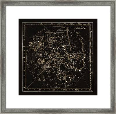Cepheus Constellations, 1829 Framed Print by Science Photo Library