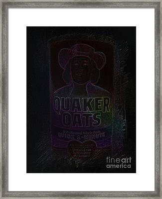Cereal Framed Print by J Burns